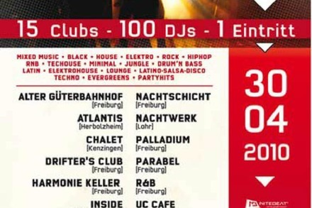 Verlosung: Tanz in den Mai - Nitebeat Birthday Excess