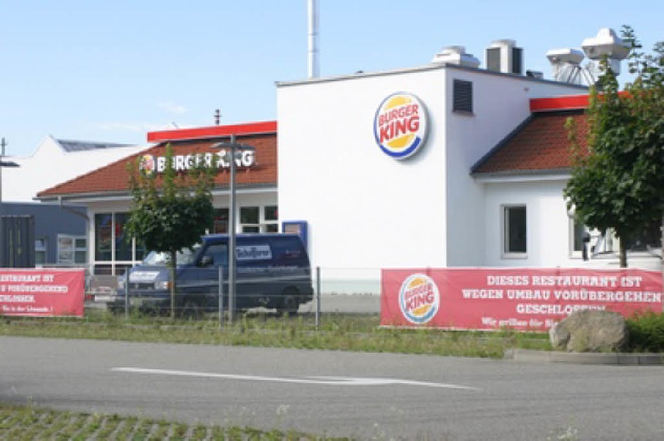 burger king filiale an der tullastra e geschlossen freiburg. Black Bedroom Furniture Sets. Home Design Ideas