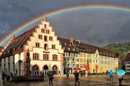 Rainbow over the Kornhaus