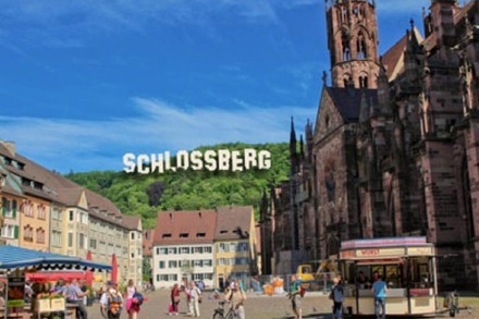 Ein Schlossberg wie in Hollywood