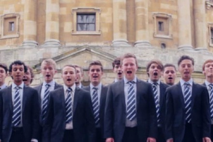 Video: Oxford-Boys sch�tteln ihre H�ften wie Shakira