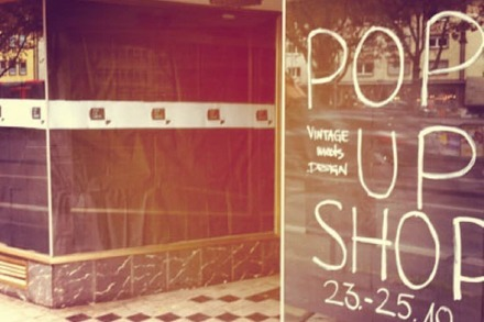Vintage meets Design - Pop-up-Shop am Siegesdenkmal