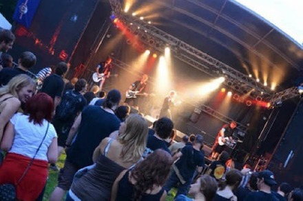 Rock am Bach 2014 mit Äl Jawala, Brothers of Santa Claus & Rockin' Carbonara