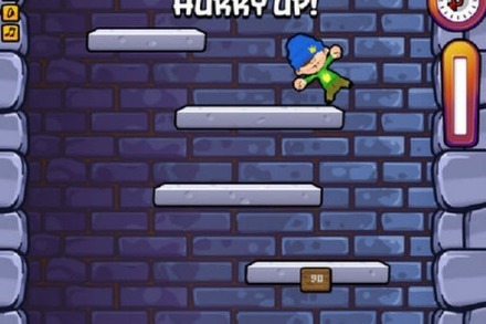 Browser-Game: Icy Tower