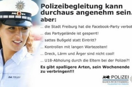 Facebook-Party: Polizei sperrt den Opfinger Baggersee