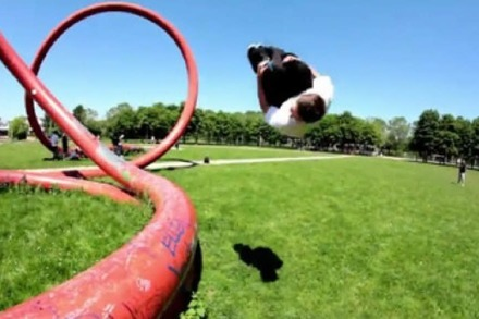 Schickes Freiburger Freerunning-Video
