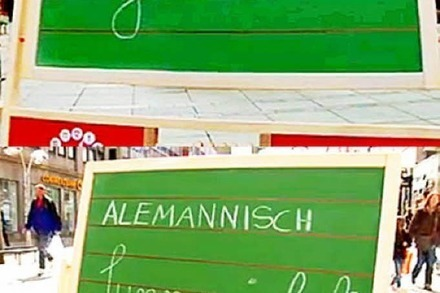 Video: Schw�bisch-alemannischer Vokabeltest
