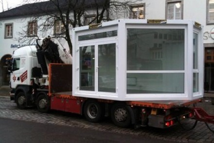 Kiosk-Container kommt an die Ecke Rotteckring/Rathausgasse