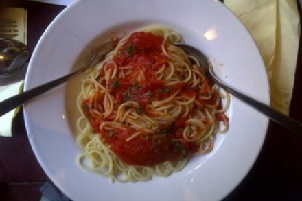 All you can eat-Test: Spaghetti im Cheers