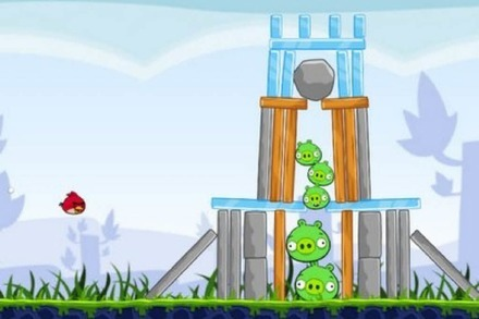 Angry Birds als Browsergame
