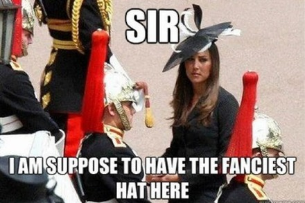 Kate Middleton FTW!
