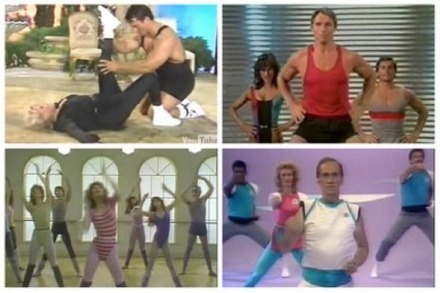 Promi-Fitness-Videos: Fit wie Arnold, David, Zsa Zsa, Chuck und Jane!