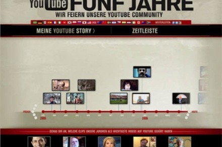 Fünf Jahre YouTube: Happy Birthday!
