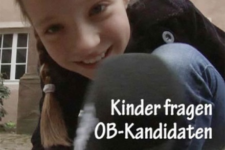 Video: Kinder fragen die OB-Kandidaten