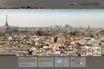 Panoramafoto: Paris in 26 Gigapixeln