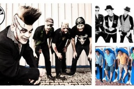 Wo rockt's? Sewer Rats, Sunny Domestozs & Demented Are Go im Café Atlantik