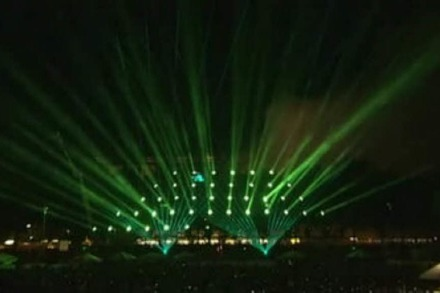 Die Loveparade-Lightshow 2008