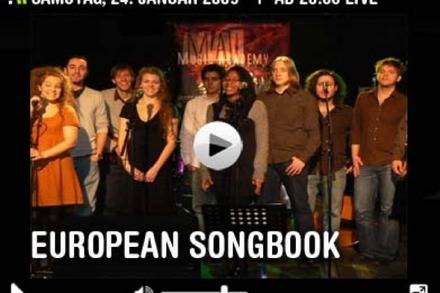 Samstag live: European Songbook