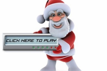 Speedy Santa in 3D