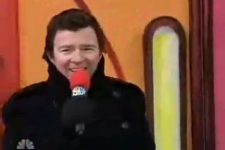 Der Thanksgiving Parade Live-Rick Roll