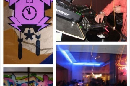 Nightlife-Guru: Streetart-Party in der Jackson Pollock Bar