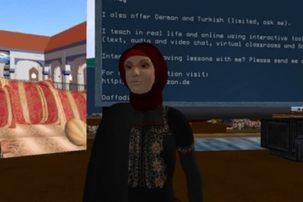 Sprachunterricht in Second Life