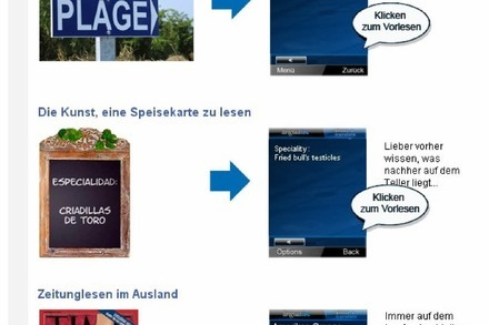 Der Handy-Übersetzer: Shoot & Translate