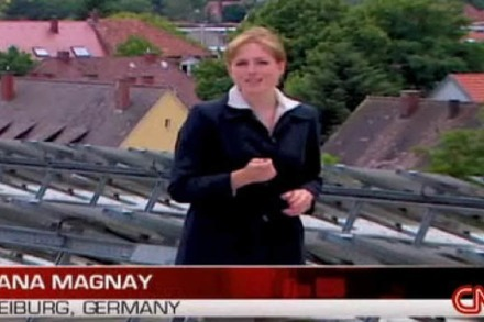 "CNN über Freiburg: ""Germany's model green city"""
