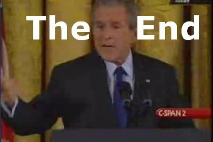 Bush singt R.E.M.: It's the End of the World