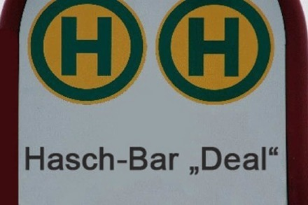 "Haslacher Bad = Hasch-Bar ""Deal"""