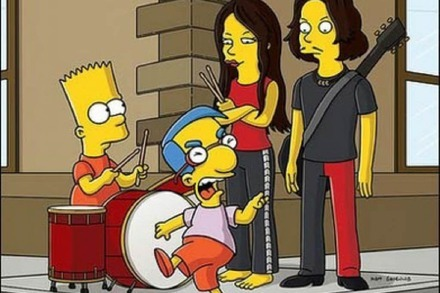 The White Stripes Gast-Stars bei den Simpsons