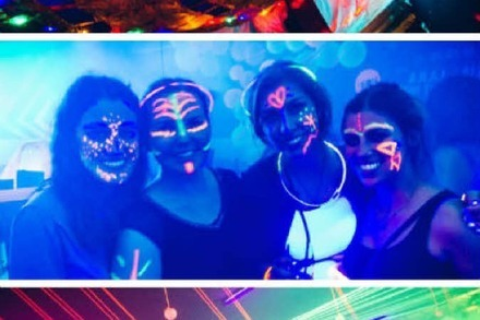 Fotos: So bunt war die Disco Boh�me Neon im Bambii