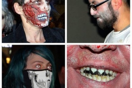 Videos und Fotos: Zombie-Walk in Freiburg