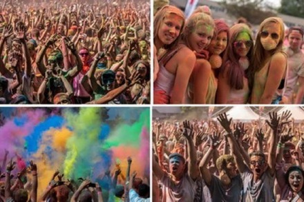 Fotos: Holi-Colour-Festival in Offenburg