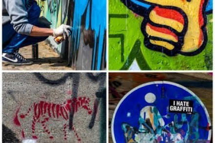 Fotos: Graffitis an der Dreisam