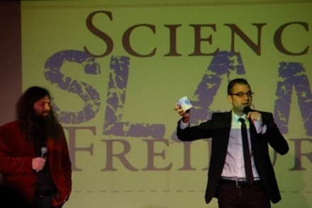 Premiere in Freiburg: So war der Science Slam