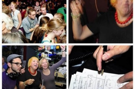 Nightlife-Guru: Green City Beats mit Claudia Roth in der Jackson-Pollock-Bar