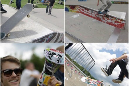 Fotos: Rieseljam Skateboardcontest