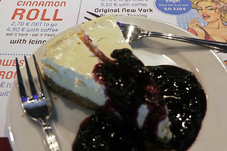 Wie in den USA: NY Cheesecake (Foto: Robin Wille)