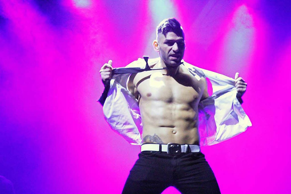 Die Chippendales in der Freiburger Rothaus-Arena (Foto: Nightlife-Guru)