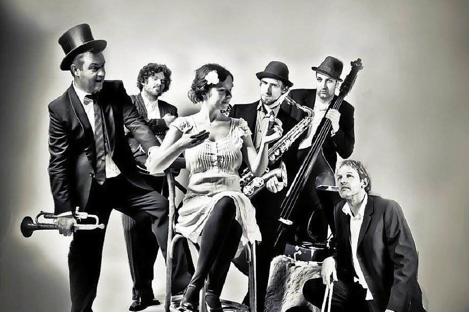 Die Freiburger Swing-Band Jitterbug Perfume. (Foto: Band)