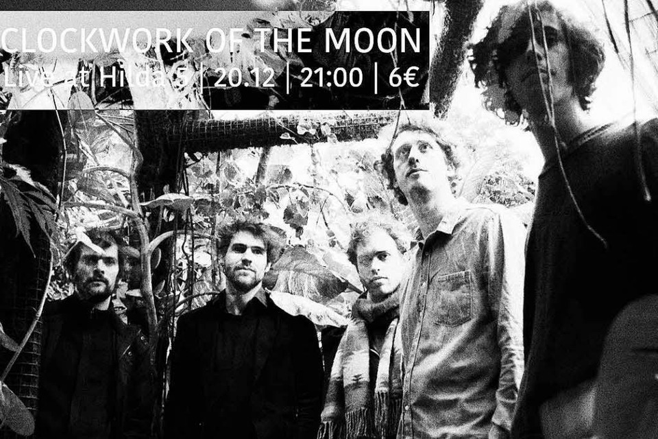 Clockwork of the Moon spielen in Freiburg. (Foto: Veranstalter)