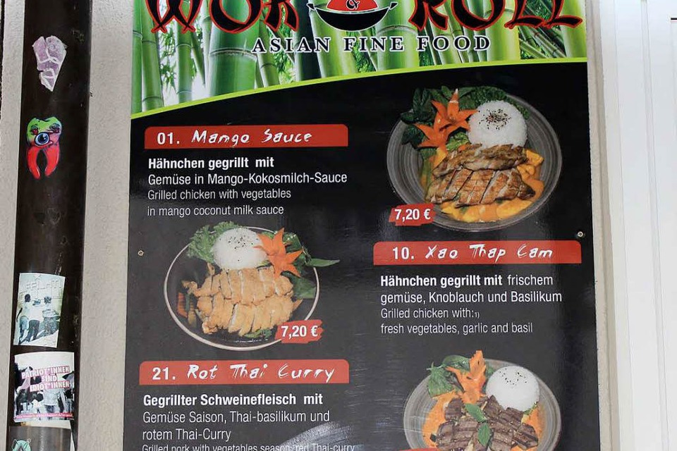 """Asian Fine Food"" gibt's im Wok & Roll (Foto: Nora Ederer)"
