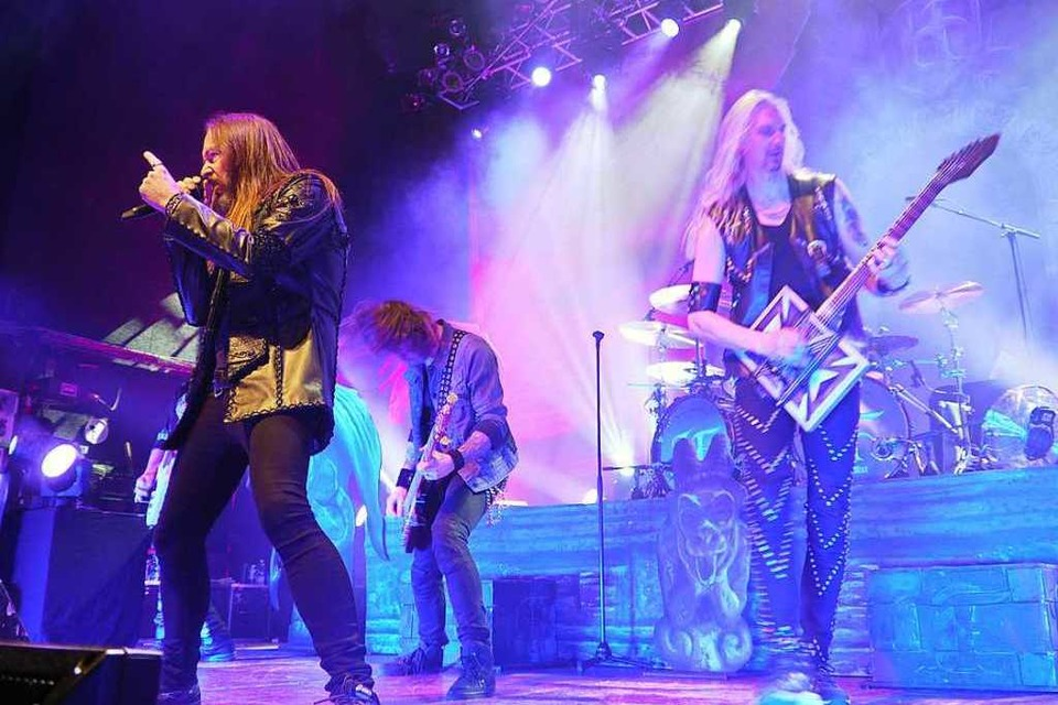 Hammerfall in Pratteln (Foto: David Weigend)