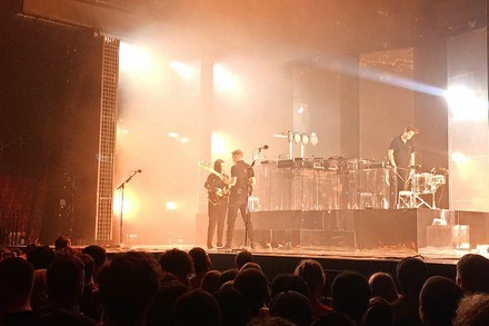 Was ging bei … The XX in Basel?
