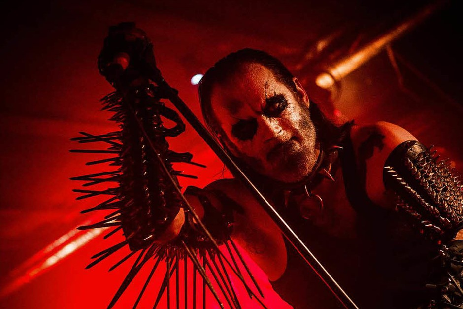 Vier Bands, vier Kontinente: Gorgoroth, Incite, Earth Rot und Melechesh im Crash (Foto: Leon Pfaff)