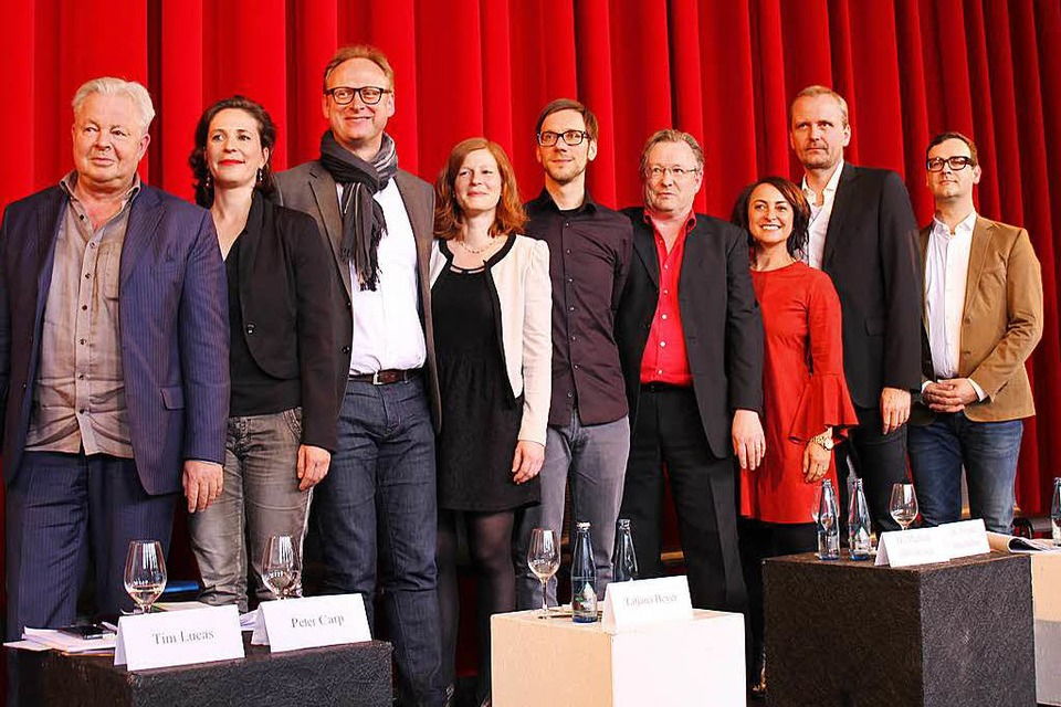 Neuer Theater-Intendant Peter Carp (links) mit seinem Leitungsteam (Foto: Gina Kutkat)