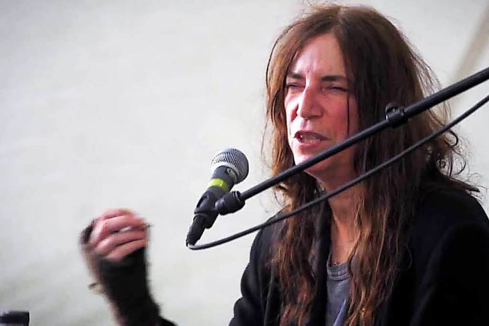 Patti Smith in Louisiana (Foto: Youtube)