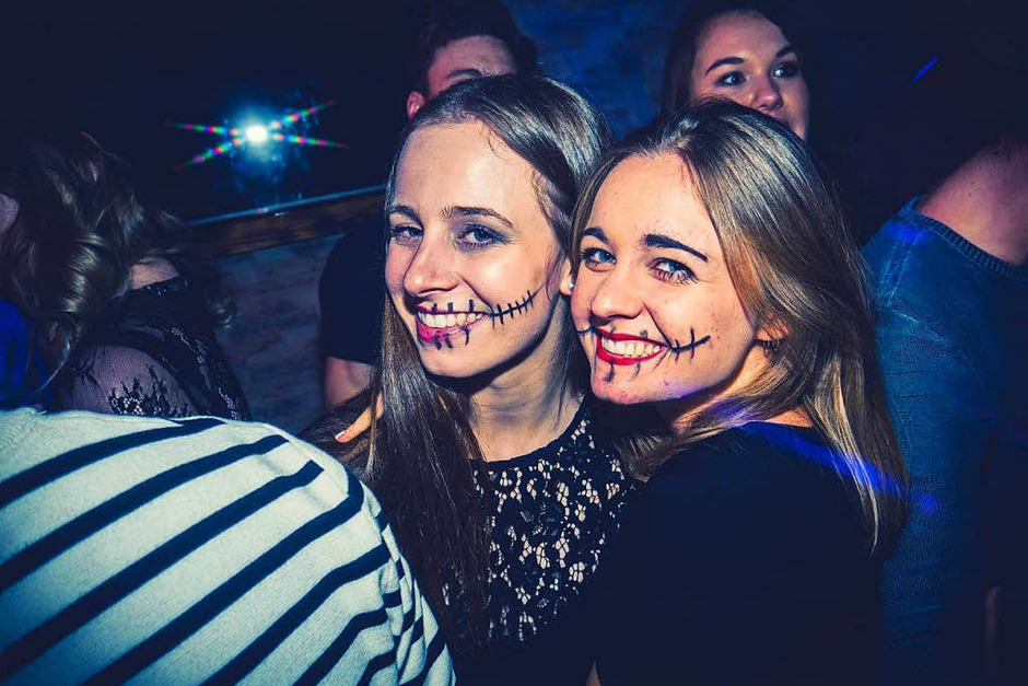 Die Halloween-Party im Puzzels (Foto: Kai Lawall)
