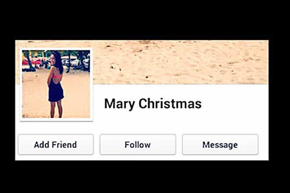 Mary Christmas! (Foto: Screenshot)